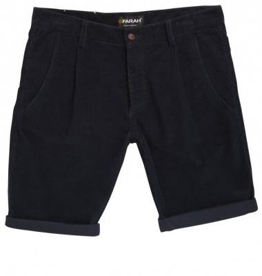 Farah Vintage Albany Navy Shorts