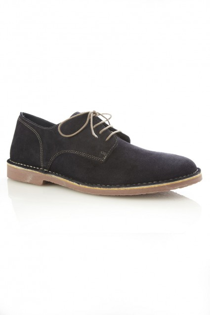 French Connection Navy Suede Shoes