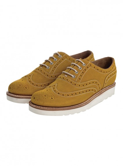 Grenson William Mustard Shoes