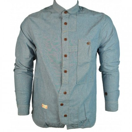 Marshall Artist Tradesman Blue Shirt