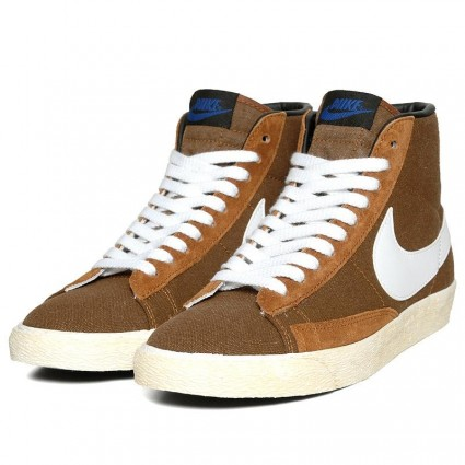 Nike Brown Vintage Blazer Hi Tops