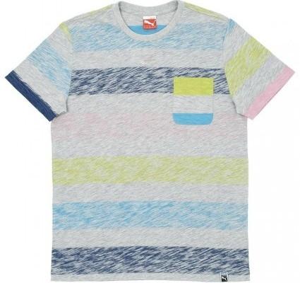 Puma Vintage Stripe T Shirt