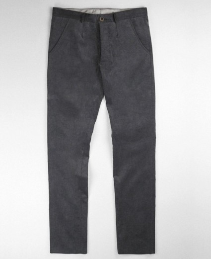 S.E.H Grey Cord Trousers