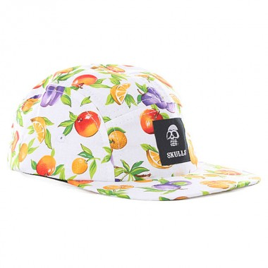 Skulls Fruit 5 Panel Cap