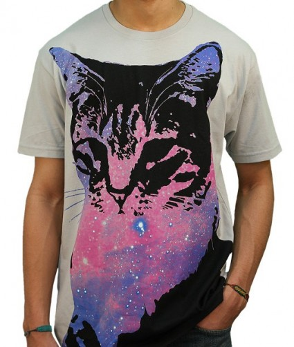 Space Cat T Shirt