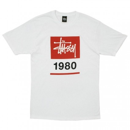 Stussy Stock Box 1980 T-shirt