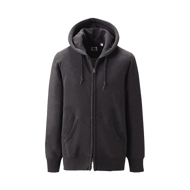 Uniqlo Grey Hooded Top
