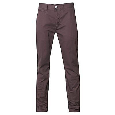 Voi Burgandy slim Chinos