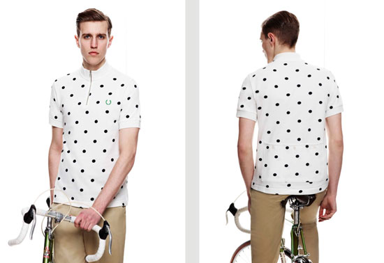 Fred Perry Polka Dot Cycling