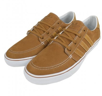 Adidas Originals Court Lo Brown Suede Trainers