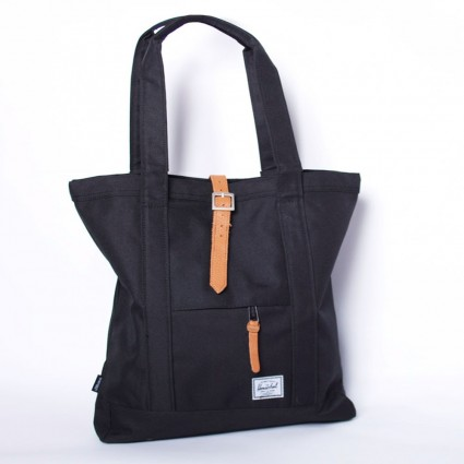 Herschel Black Market Tote Bag