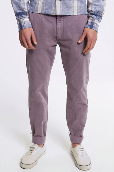 Levis Dusty Purple Mens Chinos