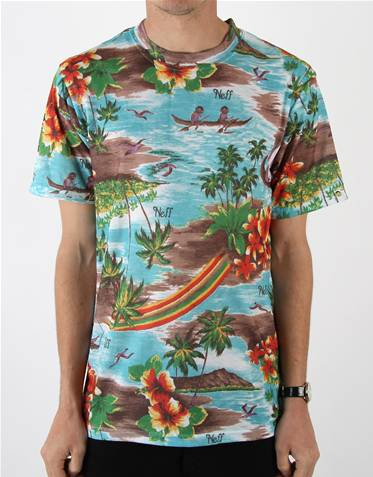 Neff Hawaiian T Shirt