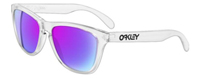 Oakley Frogskin Clear Sunglasses