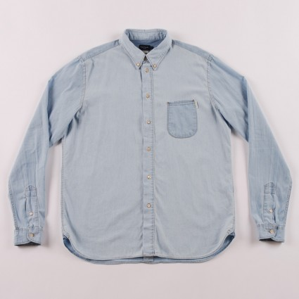 Paul Smith Light Denim Chambray Shirt