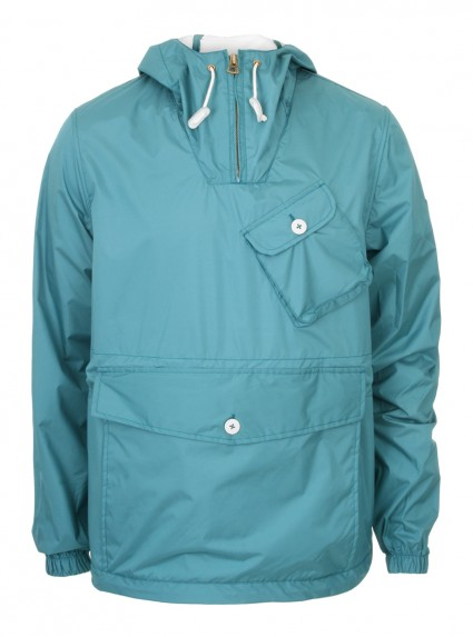 Penfield Blue Rain Jacket