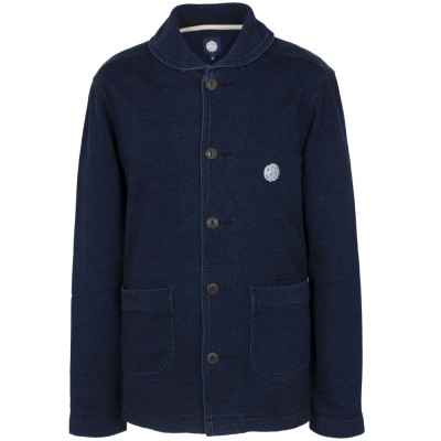 Pretty Green Indigo Shawl Jacket