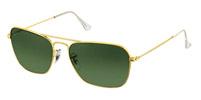 Rayban Caravan Gold Sunglasses