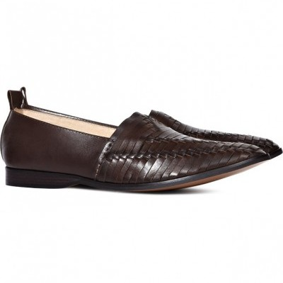 Reiss Brown Woven Shoes
