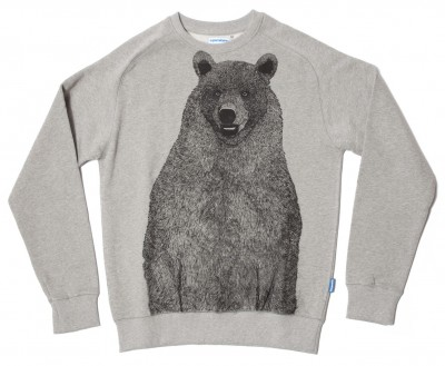 Supremebeing Mont Bear Mens Sweatshirt