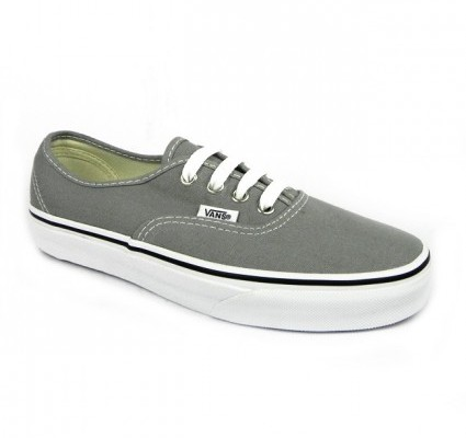Vans Authentic grey trainers