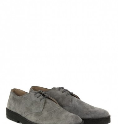 Common People mens Dylan Grey Suede Shoes