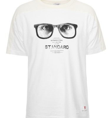 Garbstore White Sunglasses T Shirt