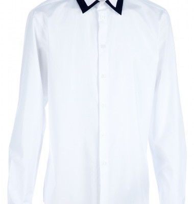 Givenchy Contrasting Collar Shirt