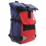 Puma traction navy and red backpack