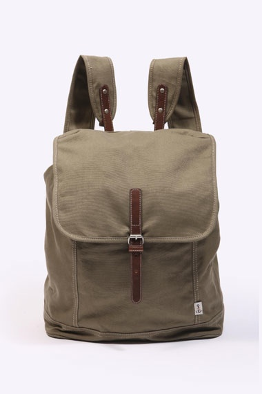 Shore Leave Olive Backpack