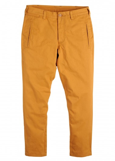 Supremebeing mustard guard mens trousers