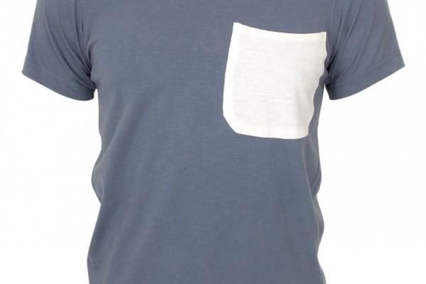 Universal Works Blue Pocket T Shirt
