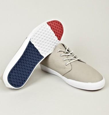 Vans Vault grey leather boots