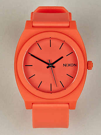 Nixon time teller P neon mens watch