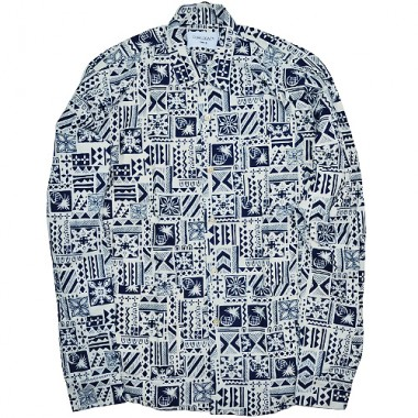 Our Legacy Ethnic Blue Shirt