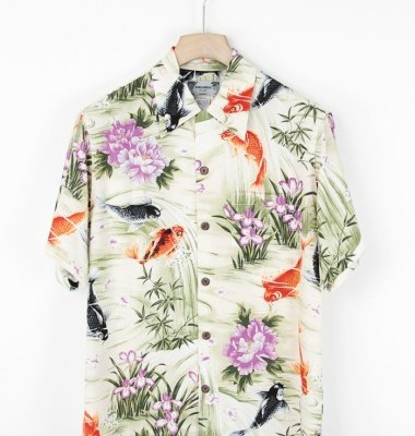 Paradise Found Hawaiian mens shirt