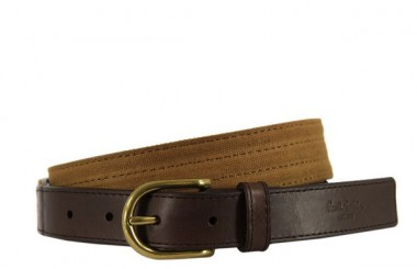 Paul Smith Brown Leather Belt