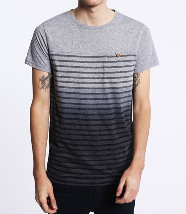 Shore Leave dip dye mens T-Shirt