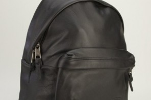 Eastpak Leather Backpack